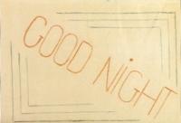 Osmý obrázek: Dobrou noc!