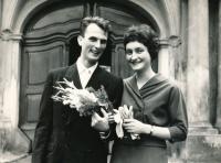 Vladimír, svatba, srpen 1963