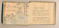 matčina vlastnoruční knížka poezie z Ravensbrücku