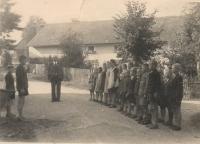 Škola v Hynčicích nad Moravou před druhou světovou válkou