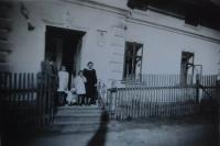 Dům Lasermannů v Hynčicích nad Moravou, kde sloužila pamětnice