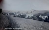 Hynčice nad Moravou před druhou světovou válkou