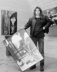 Jaroslav Malík na dobové fotografii (90. léta)