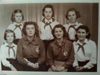 Koláriková Zdenka pionierska vedúca