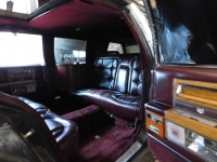 The limousine which Tom Cruise and Paul Newman drove in The Color of Money movie and is owned by Stanislav Stojaspal