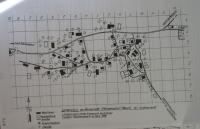Mapa Hynčic nad Moravou před druhou světovou válkou