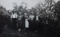 Rodina v Hynčicích nad Moravou
