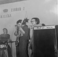 Stanislav Stojaspal v zábřežské kapele Venus