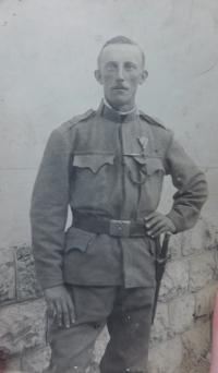 Strýc Richard Filip z Hynčic nad Moravou