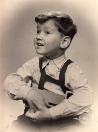 Jakub Sviták asi pětiletý