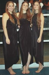 Trio Con Moto: from the left Rachel, Larissa, Jacqueline