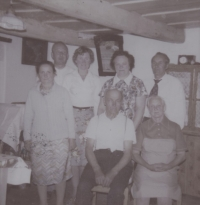 V Hynčicích nad Moravou na návštěvě Rotterových