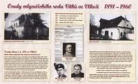 Memorial plaque for the Vítek family in Vlkoš