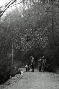 Happening na Petříně. Praha, 1972