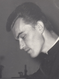 František Kunetka in a period photograph, 1969-1974