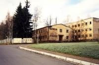 Sovětská kasárna u kostela, Město Libavá