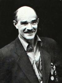 Komunista a partyzán Jaroslav Maňák, přibližně rok 1946