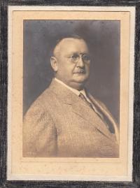 Grandfather Klement Vítek, owner of the Vlkoš mill until 1940