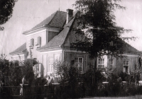 Vítek family villa in Vlkoš in the 1920s