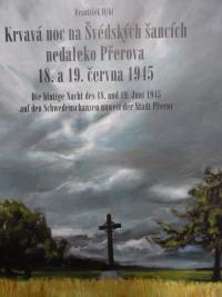 Titulní strana knihy Františka Hýbla o masakru na Švédských šancích