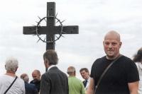 Ze slavnostního odhalení pietního místa ve Švédských šancích nedaleko Přerova / 2018