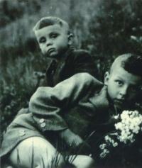 S bratrem Ottou