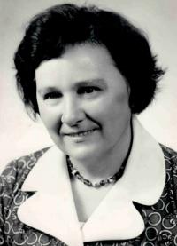 Ludmila Machalová, dobová fotografie