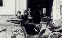 Na Slovensku s ppor. Klauderem, 15. 4. 1945