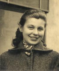 Milena Blatná, rozená Hypšová - dobový portrét