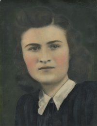 Viera Šagátová v mladosti