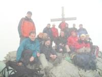V Alpách na vrcholu Rastkogel (r. 2010)