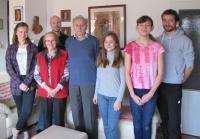 S týmem z projektu Příběhy našich sousedů v roce 2018
