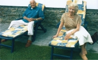 Bratr Jiří s manželkou 2002