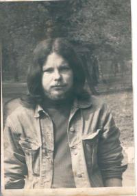 František Stárek v roce 1970
