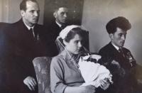 1956, svatební fotografie 1