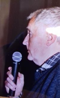 Vladimír Bílík při uvádění sportovního zápasu, nedatováno