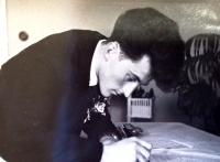 1956 - pamětník při svatbě