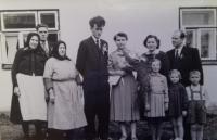 1956 - svatební fotografie 2