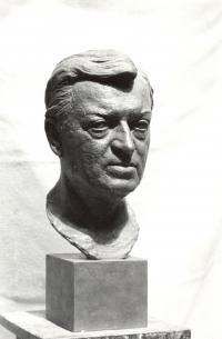 Busta herce Martina Růžka (r. 1981)