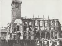 Pražské povstání - Staroměstská radnice