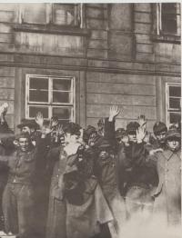 Pražské povstání - zajatí Němci
