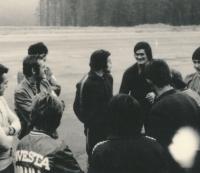 1973 poprvé na Západě, Vánoce v Holandsku