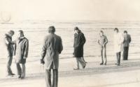 1973 poprvé na Západě, výjezd se Slavií do Holandska