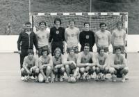 1974 Švýcarsko, s dorosteneckým výběrem Prahy na turnaji ve Švýcarsku, konal se během přijímaček na vysokou školu, kam byla Barda přijat bez nich