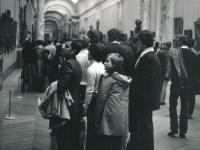Přelom 1975/76 návštěva v Louvru v Paříži