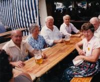 Meeting of Sudeten Germans in Germany
