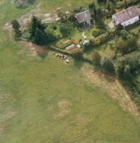 Aerial view of Gustav's residence (year 2006)