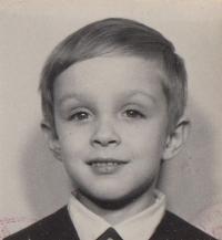 Gustav as a young boy