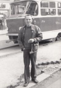 Gustav Černý on square