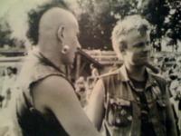Rok 1987, Plzeň, Václav Žufan (napravo)